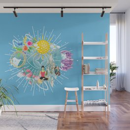Wake Up World Enlightenment  Wall Mural