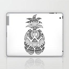 Ornate pineapple Laptop & iPad Skin