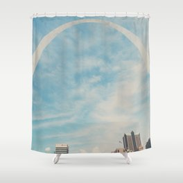 the gateway to the west ... Shower Curtain