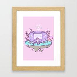Cutie Gamer Framed Art Print
