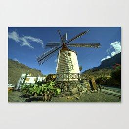 Moulin Tropicale  Canvas Print