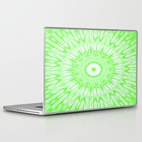 lime green Laptop & iPad Skins featuring Lime by SimplyChic