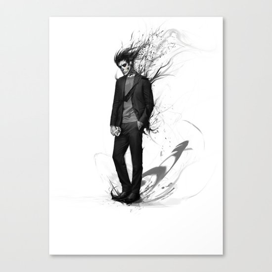 waiting for my valentine Canvas Print