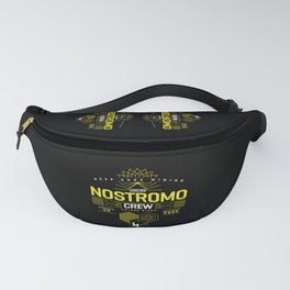 Deep Mining Crew / Nostromo / Alien / Science Fiction / Horror / Typography Fanny Pack