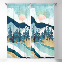 Summer Forest Blackout Curtain