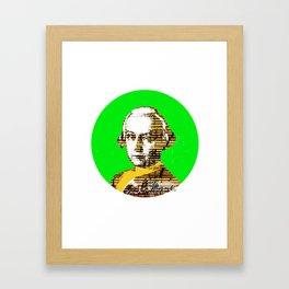 Mozart Kugel Green Framed Art Print