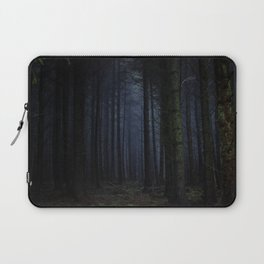 The Dark & Eerie Woods (Color) Laptop Sleeve