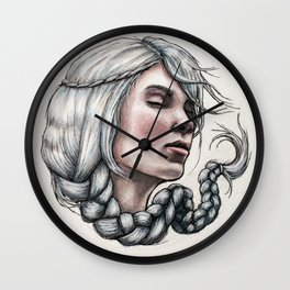 Hairball 02 Wall Clock