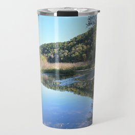 Where Canoes and Raccoons Go Series, No. 32 Travel Mug