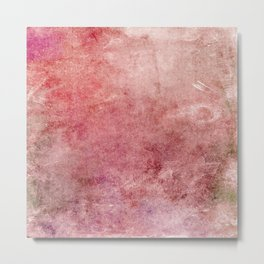 Pink Texture Metal Print