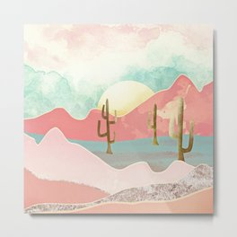 Desert Mountains Metal Print