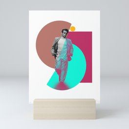 Sinuous James Mini Art Print