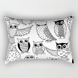 Funny owls Rectangular Pillow