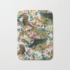 FLORAL AND BIRDS VI Bath Mat