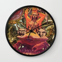 Mother Monster Wall Clock
