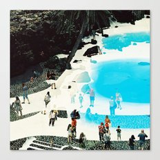 swimming pool 3 Canvas Print