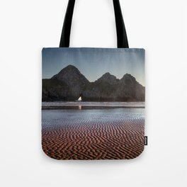 Three Cliffs Bay Gower peninsula Tote Bag