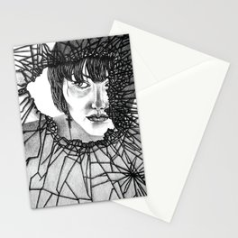 Through the broken glass Stationery Cards