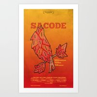 movie posters Art Prints featuring Amathias Pictures -  Imaginary movie posters by Pedro Hamdan