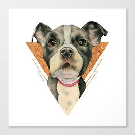 Puppy Eyes 5 Canvas Print