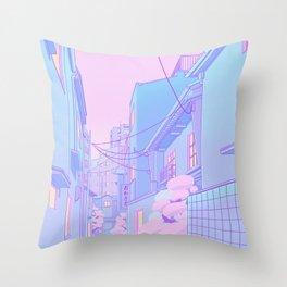 Osaka Morning Throw Pillow