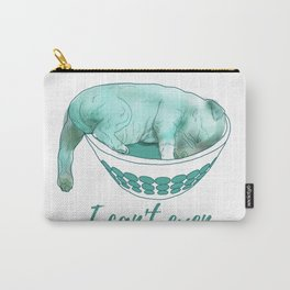 Dog in bowl Carry-All Pouch