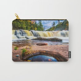 Mandio Falls - Porcupine Mountains Carry-All Pouch