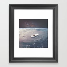 Rowing the Cosmos Framed Art Print