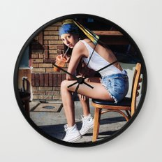 Girl with a Pearl Earring - Chill Out Mood Wall Clock
