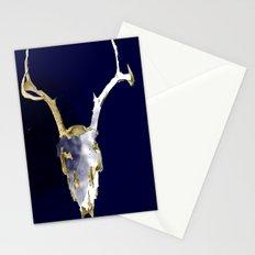 Skull Dye Stationery Cards