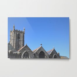 Church, St Ives Metal Print