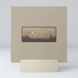 """Binary Suns - Tatooine Light"" by Michael Grasseschi  Mini Art Print"