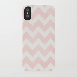 Pink Coral Chevron iPhone Case