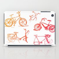 bikes iPad Cases featuring summer bikes by a.gonzalez