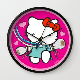 Ketty: ICU Nurse Humor Wall Clock