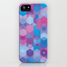 Hexa-Sub-Sky iPhone Case