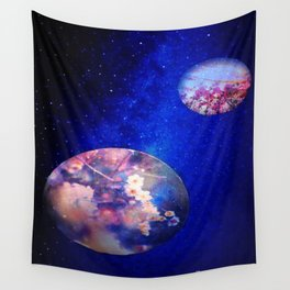 Let Me See What Spring Is Like On Jupiter & Mars Wall Tapestry