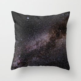 The Milky Way Throw Pillow