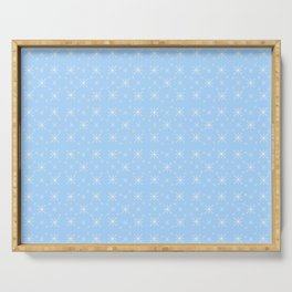 Stars 30- sky,light,rays,pointed,hope,estrella,mystical,spangled,gentle. Serving Tray