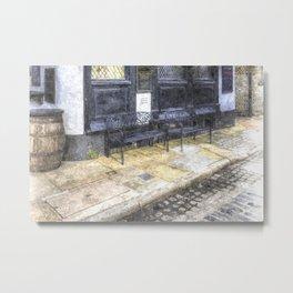 Pub Resting Place Art Metal Print