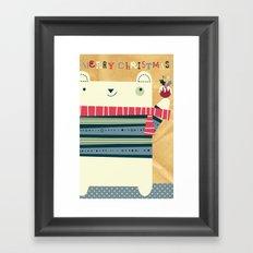 Merry Chrissy Framed Art Print
