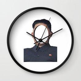 No-Face: Supreme Leader Kim Jong-un Wall Clock