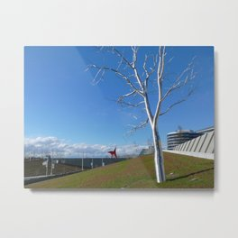 """Split,"" Roxy Paine Metal Print"