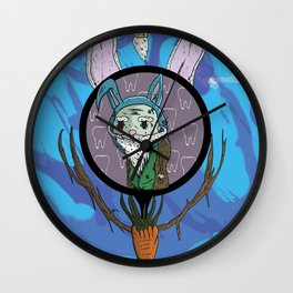 Long in the tooth Wall Clock