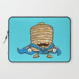 Captain Pancake's Mustache Laptop Sleeve