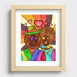 70's Love Recessed Framed Print