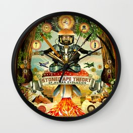 Stoned Ape Theory Wall Clock