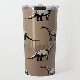 ChocoPaleo: Brontosaurus Travel Mug