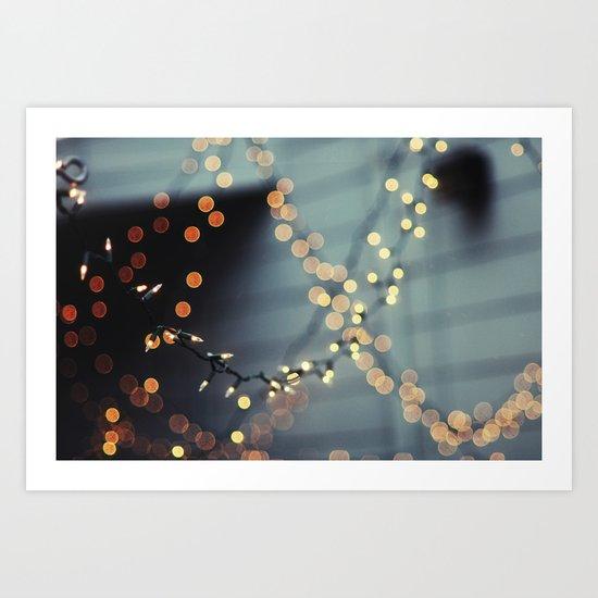 All of the lights. Art Print