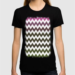 Pink Roses in Anzures 3 Chevron 1T T-shirt